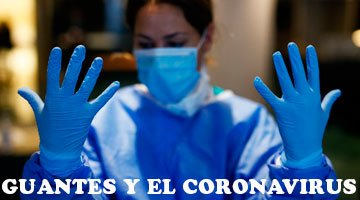 guantes y coronavirus