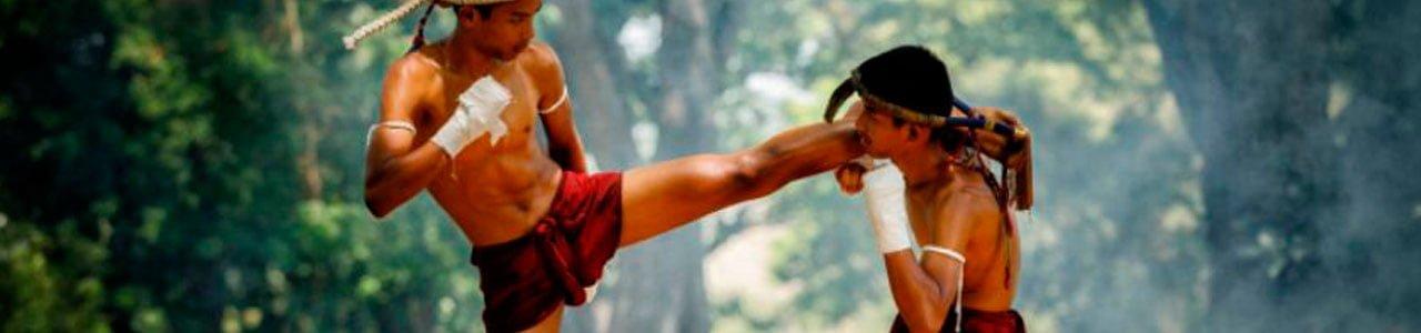 guantes y guantillas de muay thai