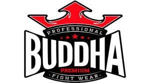 logo guantes de boxeo buddha