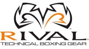 logo guantes de boxeo rival