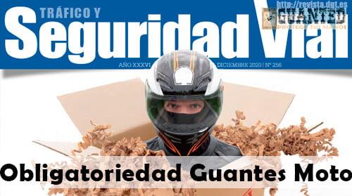 cuando es obligatorio usar guantes en moto