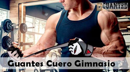 guantes de cuero para gimnasio